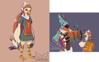 Breath of the Wild style Medli (3 29 2017) by theskywaker