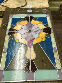 Stained Glass Cross  by SisiBagel
