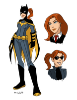 Young Justice Batgirl by msciuto