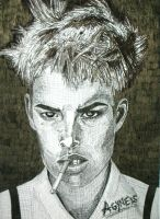 Agyness Deyn by stereophonics
