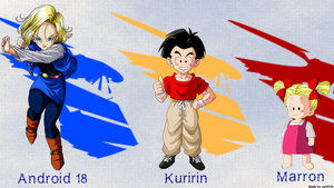 Dragonball Z 'Family' Wallpaper (1600x900) by ceil210