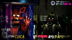 (Cinema4D-Petition1) RFoxy And PChica C4D Port DL by LagueadoHDYT