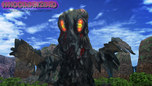 MMD Newcomer - PS3/PS4 Hedorah +DL+ by MMDCharizard