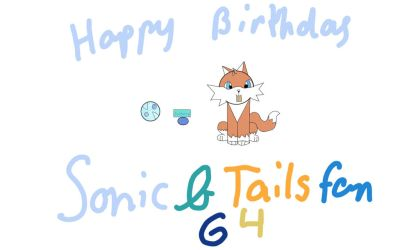 A belated birthday gift for SonicAndTailsfan64  by torialaw