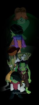The Gangreen Gang by theCHAMBA