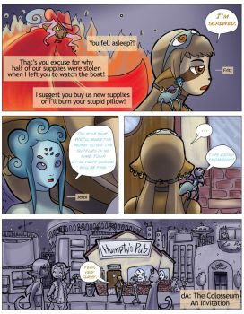 Colosseum entry page 1 by NenaLuna