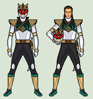 Lord Drakkon - Mighty Morphin Power Rangers by vandersonmetal