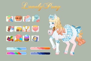Pony Dressup Mockup by PrincessMelow