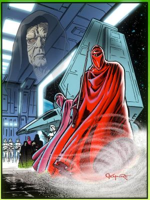 STAR WARS: RETURN OF THE JEDI - IMPERIAL GUARD by Jerome-K-Moore