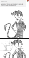 ask-the-dancing-demon Answer:Embarrassing slip-ups by The-Purple-Gremlin