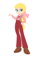 Megan- Equestria Girls Style by LivingEncyclopedia