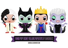Funko Pop! Villains by dansrules