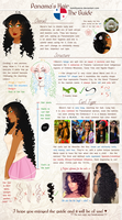 .:APH:. Panama's Hair Guide by kamillyanna