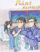 The flame alchemist is father by Seto01
