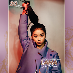 // PHOTOPACK 3238 - LANA CONDOR // by censurephotopacks