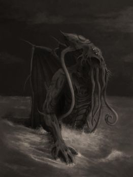 Cthulhu Rises by kimded