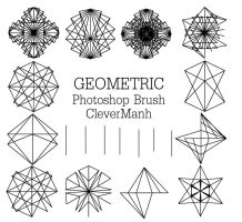 Brush 5 | Geometric Brush CleverManh by CleverManh