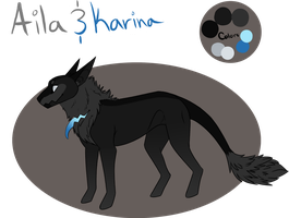 Aila and Karina Reference Sheet by Lunet12