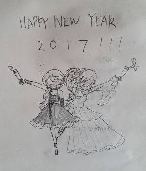 HAPPY NEW YEAR 2017!!! by Great-Seraphim-Angel