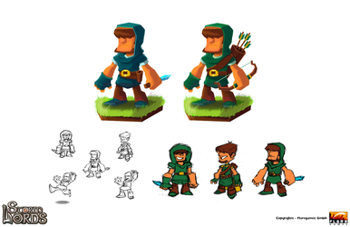 'StormLords'  Game - Character Designs by AnimationGirl-Art