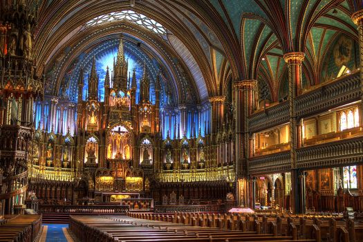Notre Dame Basilica I by digswolf