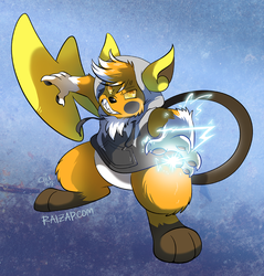 [Commission] FluffalRaichu by raizy