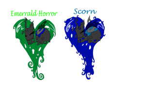 Changeling pony adopts 3 -closed- by Little-Horrorz