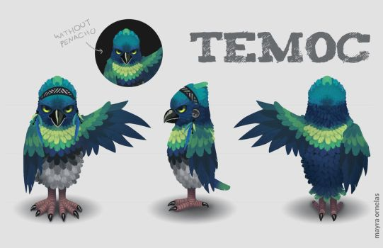 Temoc by MayOrnelas
