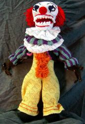 Pennywise Tribute Doll by voxmortuum
