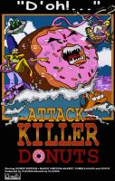 Attack Of The Killer Donuts by Claudia-R