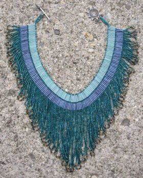 Waterfall Necklace by penguine145
