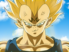 Vegeta Ssj by Monstkem