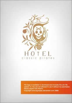 classic pirates hotel by logotypes