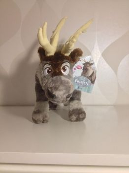 Disney Store Sven Plush by CorneliaTheWolfLover