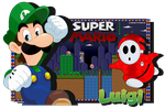Player Two's Underdog - Luigi And Shy Guy by FierceTheBandit
