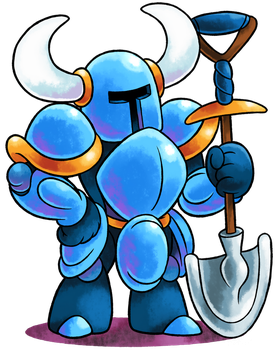 [MM] ''M+L'' RPG Style: SHOVEL KNIGHT! by Master-Rainbow