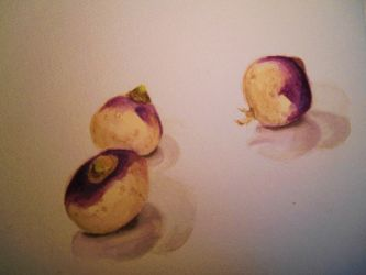 Navets / turnips by Alicecab