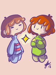 Tiny Humans  by techfreak107
