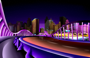 Miracle City Highway by HavocDusk