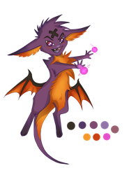 Hex Caster (Adopted) by ThePaintedDog
