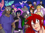 HAPPY FUCKING ANNIVERSARY TO ALL THESE PEICES OF S by DuskDragonXIII