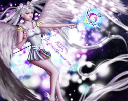 Beyond Time - Sailor Cosmos by PovedaM