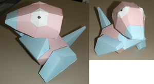 Electric Soldier Porygon by ShayDwight