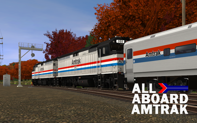 1985 Commercial - ALL ABOARD AMTRAK by GreyhoundProductions
