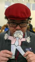 Me and Flat Stanley by kevinbolk