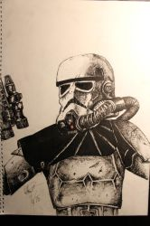 Magma Trooper by RussRamos