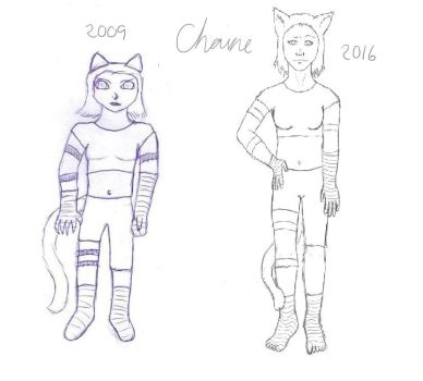 Chaine comparison by Piffsheep