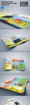 Summer Camp Kids Tri-Fold Brochure by ExtremeLogo