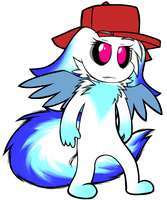 Azure the Chao Restyle by NeppyNeptune