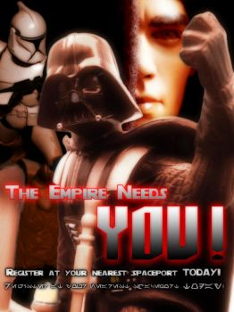 The Empire Needs You by majinlogan